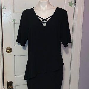 Thalia sodi black dress